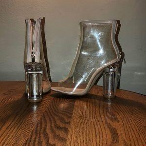 076df18c0c5 Public Desire Shoes - Yeezy lookalikes Clear public desire heels size 5